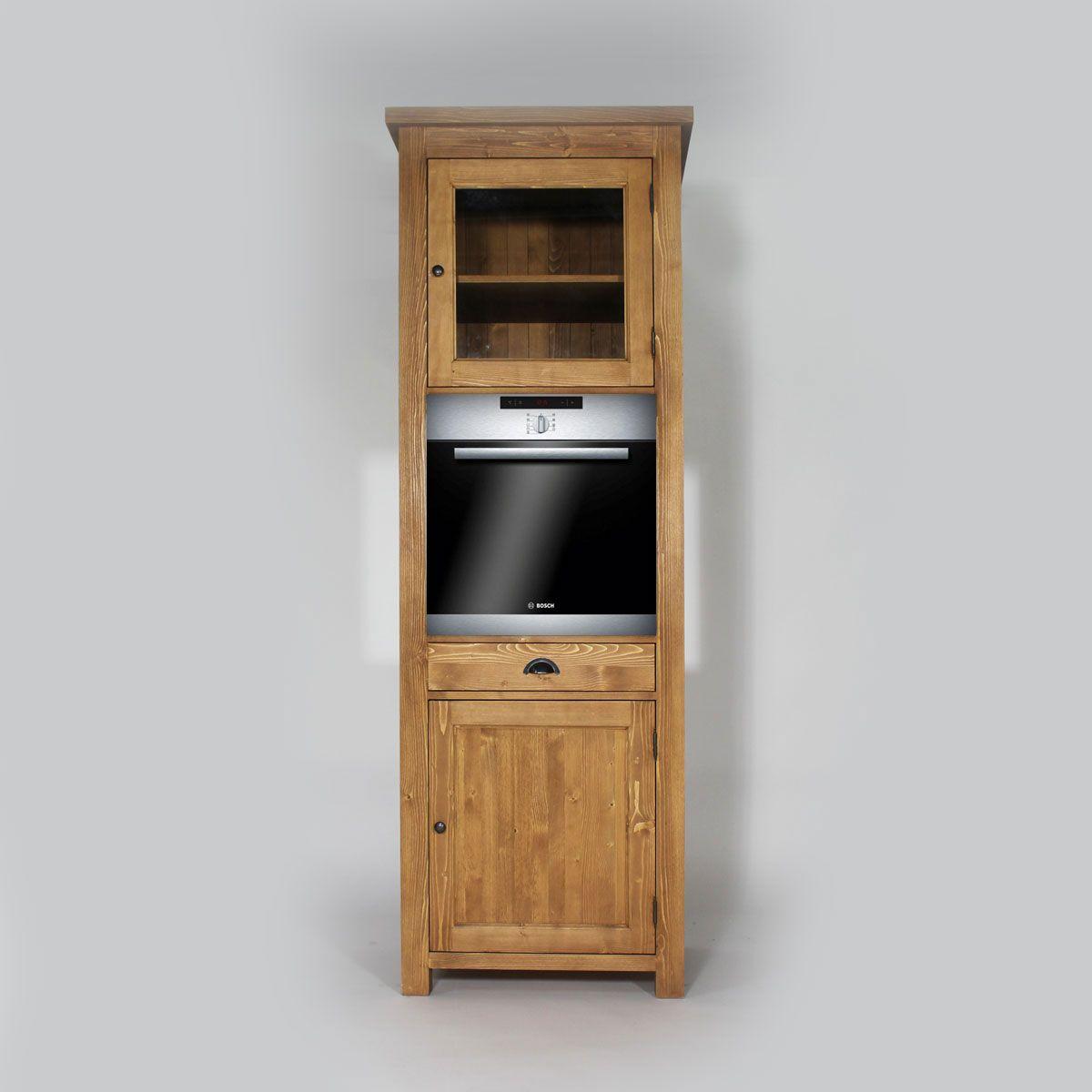 meuble haut cuisine four encastrable