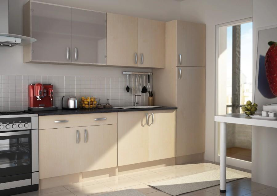 meuble haut cuisine hauteur 60 cm