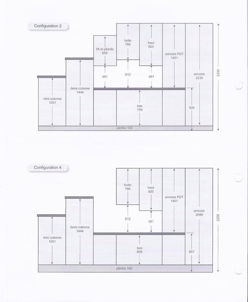 meuble haut cuisine hauteur