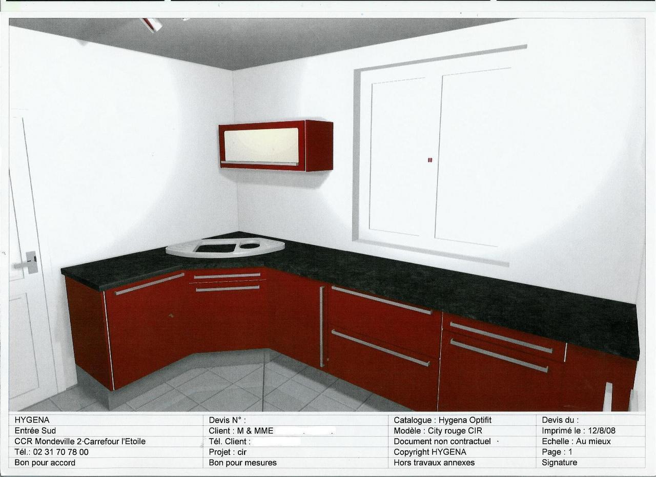 meuble haut cuisine hygena
