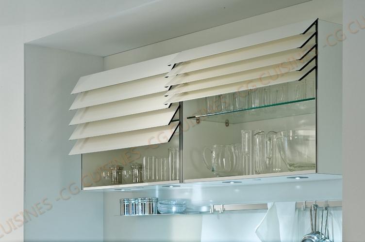 meuble haut cuisine ouverture electrique