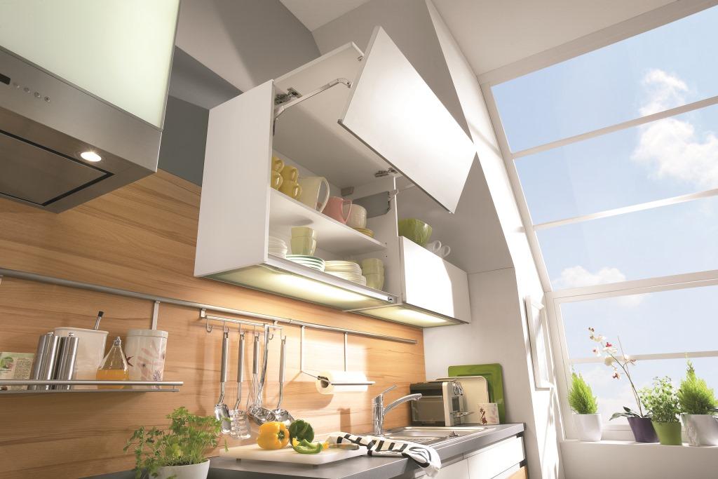 meuble haut cuisine porte relevante