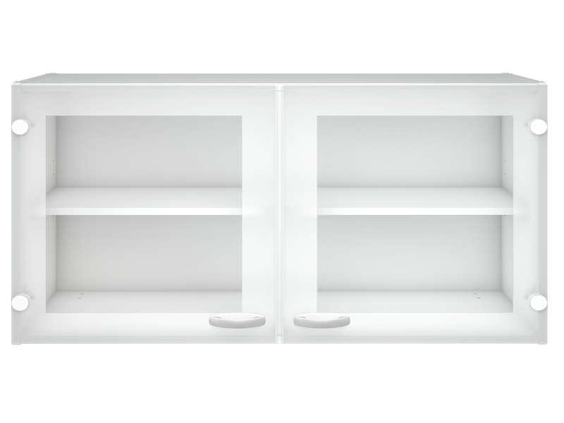 meuble haut cuisine porte vitree