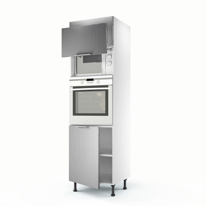 meuble haut cuisine pour four encastrable