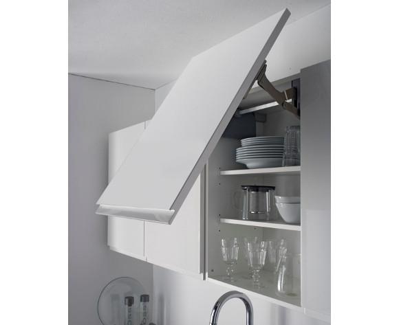 meuble haut cuisine sans poignee