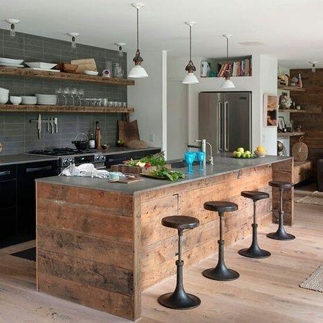 meuble haut cuisine style industriel