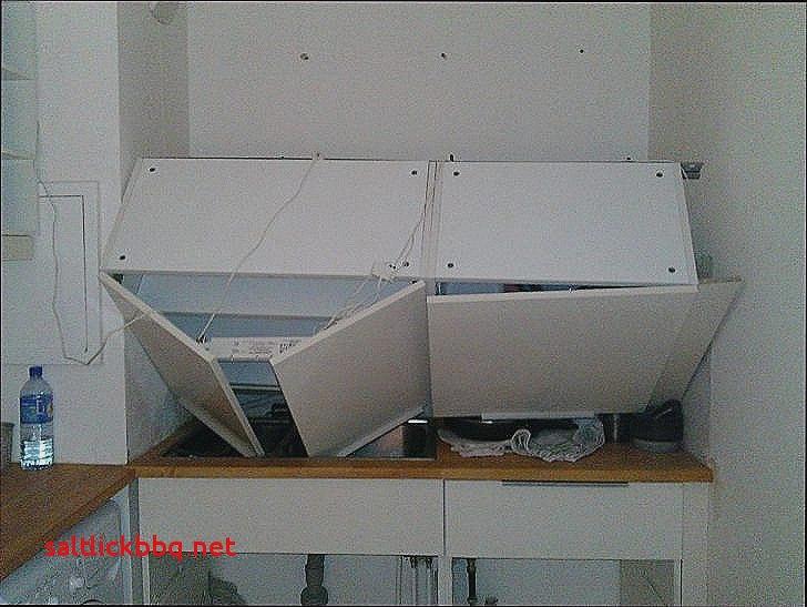 meuble haut cuisine sur placo