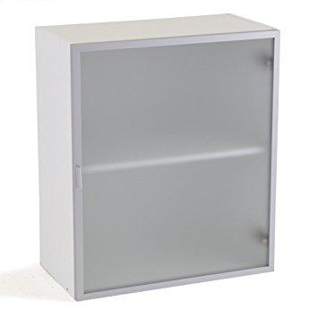 meuble haut cuisine transparent