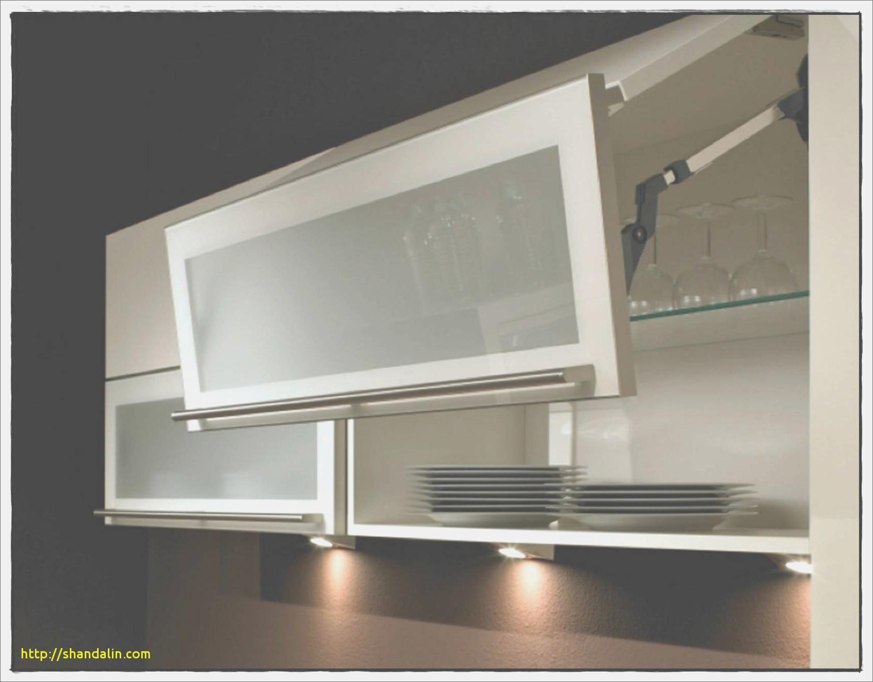 meuble haut cuisine verre