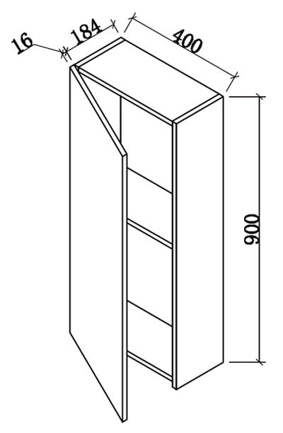 meuble cuisine 20 cm profondeur