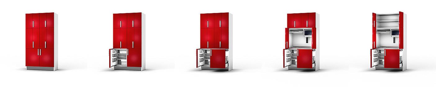 meuble cuisine 3d
