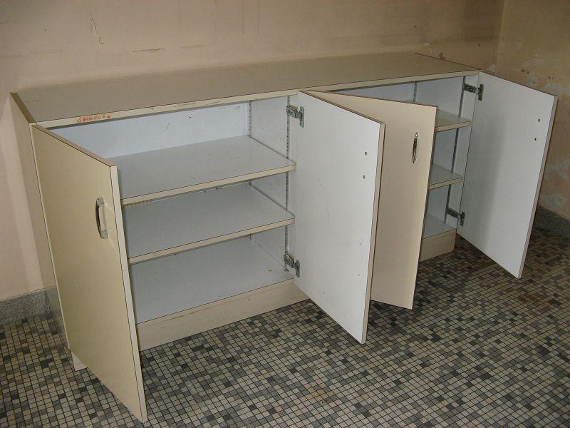 meuble cuisine 4 portes