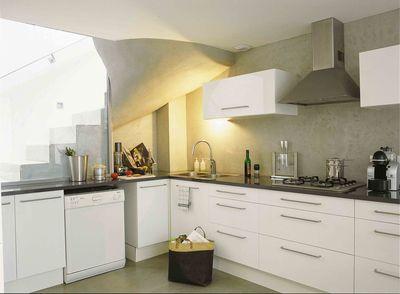 meuble cuisine blanc quelle couleur pour murs