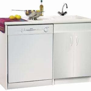 meuble cuisine evier lave-vaisselle