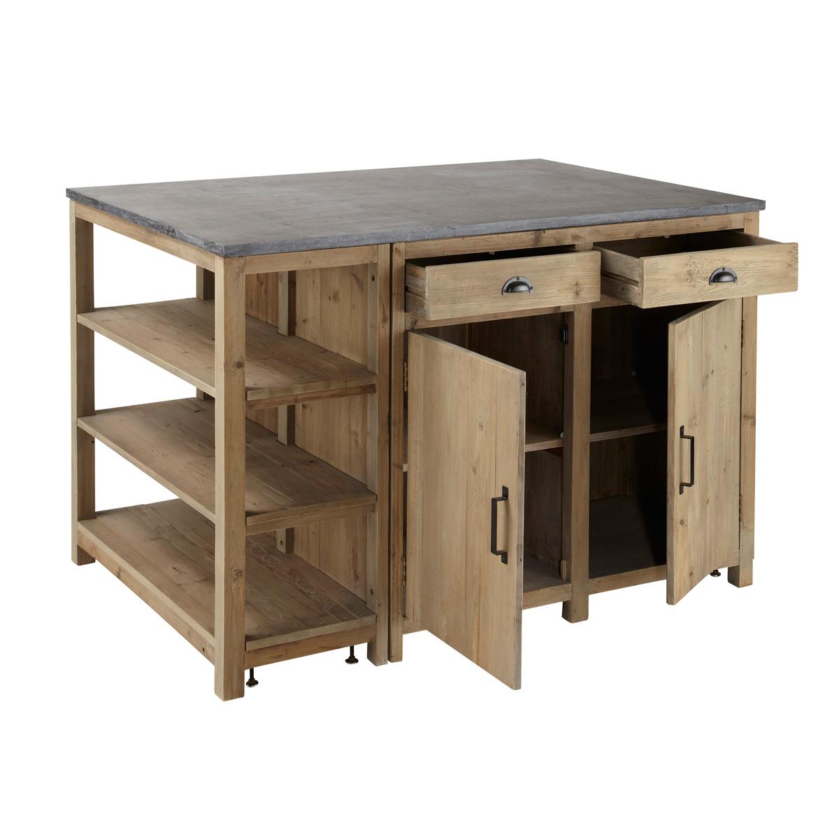 Meuble Pour Ilot Cuisine meuble cuisine ilot