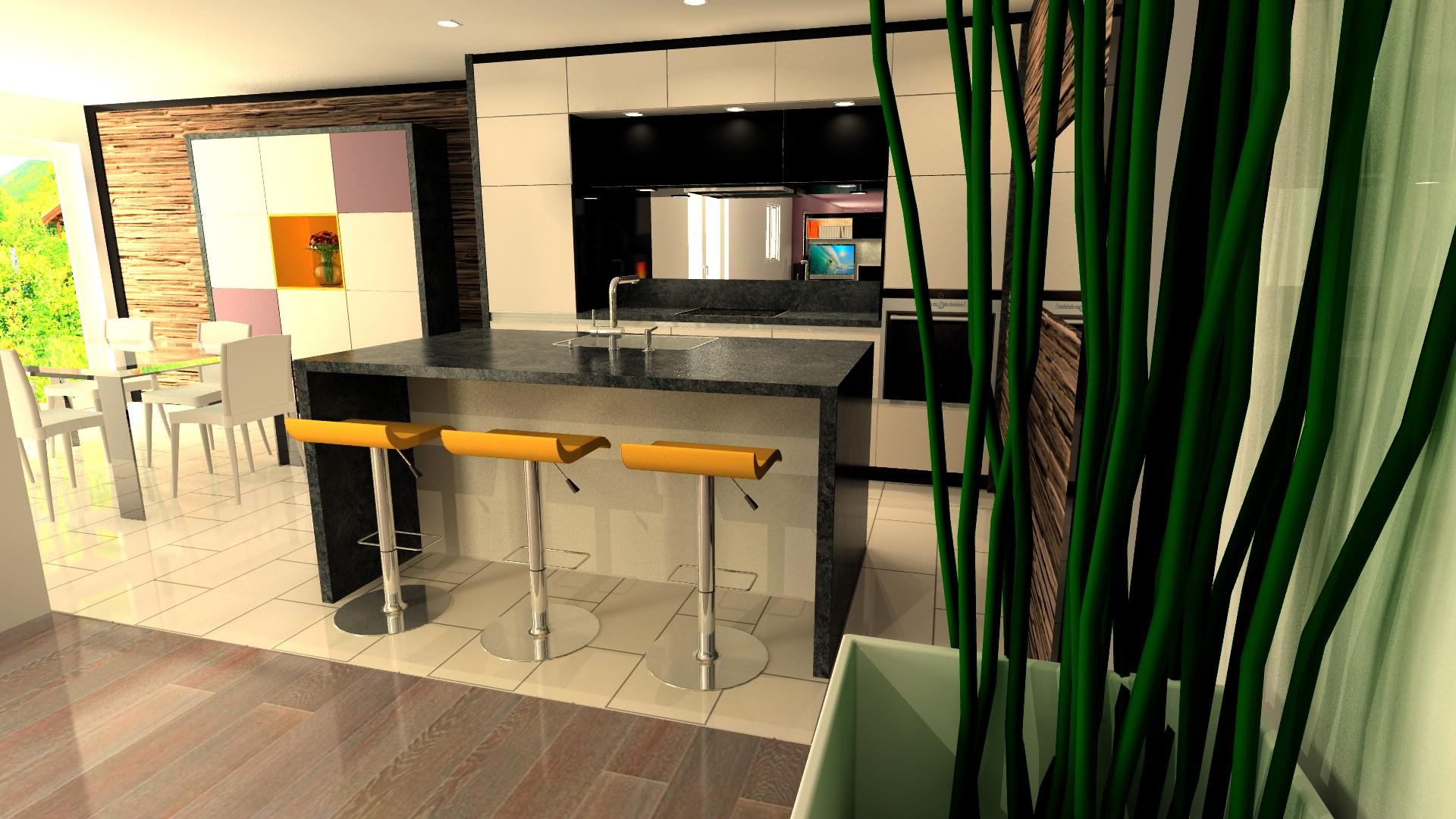 meuble cuisine niche