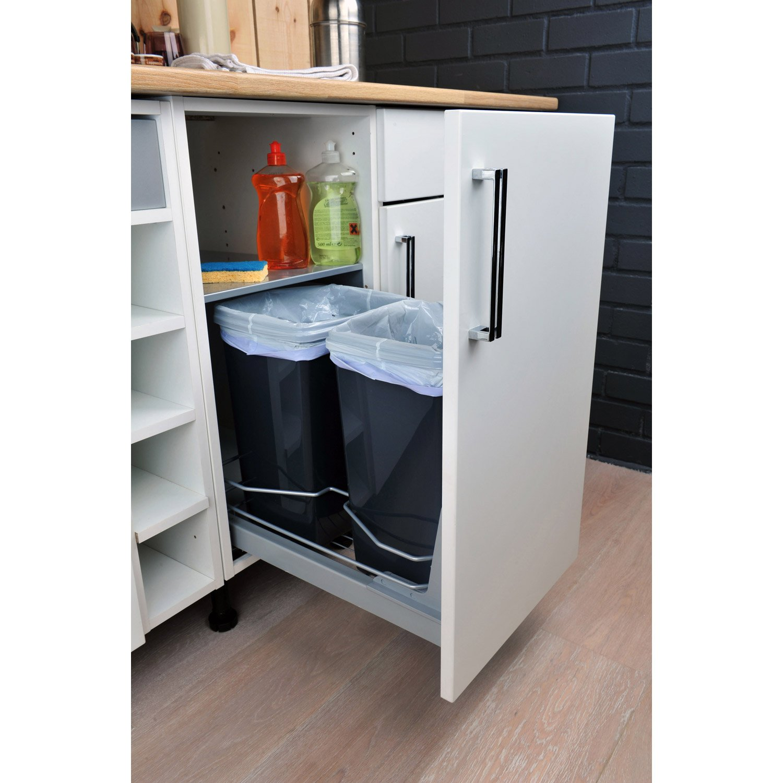 Meuble Cache Poubelle Interieur poubelle pour meuble de cuisine